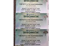 Tom Petty Hyde Park VIP SUMMER GARDEN tickets