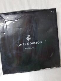 ROYAL DOULTON GLASS BOWL