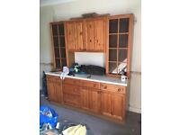 Free sideboard. Excellent condition.