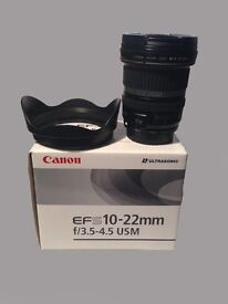 Canon Zoom Lens | EF-S - 10-22mm | F/3.5-4.5