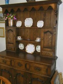 Beautiful Oak Welsh Dresser