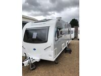 Bailey pursuit 550 2014 4 berth two single beds
