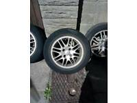 Alloy wheels off mk1 focus