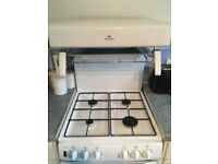 New World gas oven, hob and grill