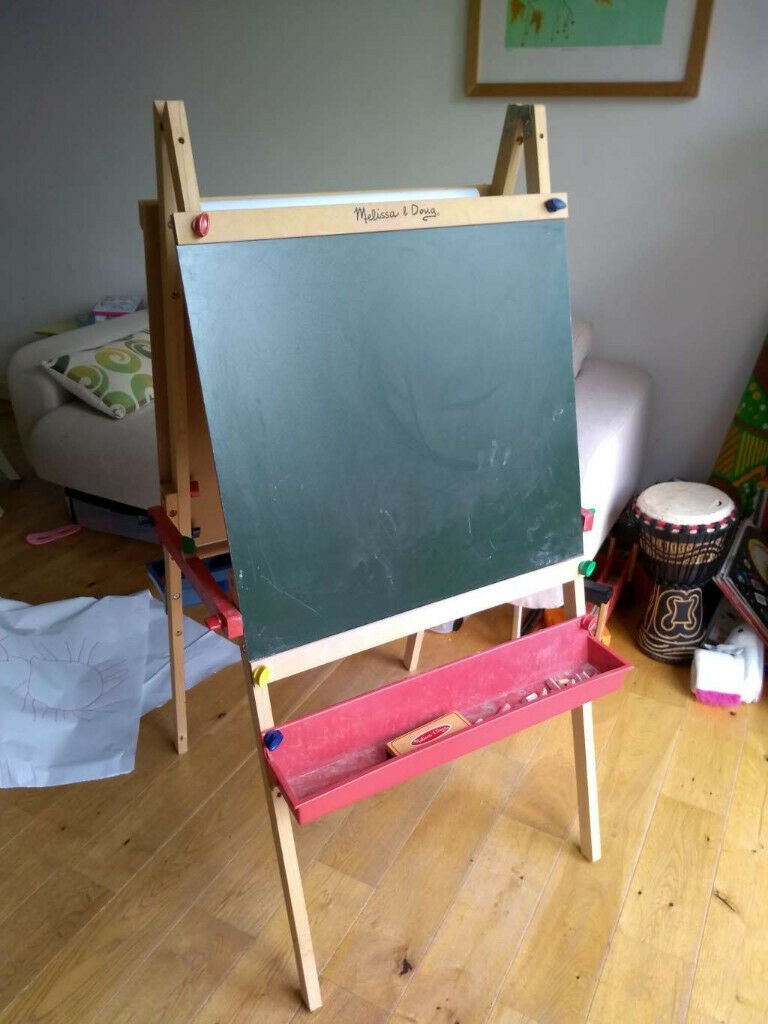 For Sale Melissa Doug Childrens Deluxe Wooden Standing Art Easel In Dulwich London Gumtree