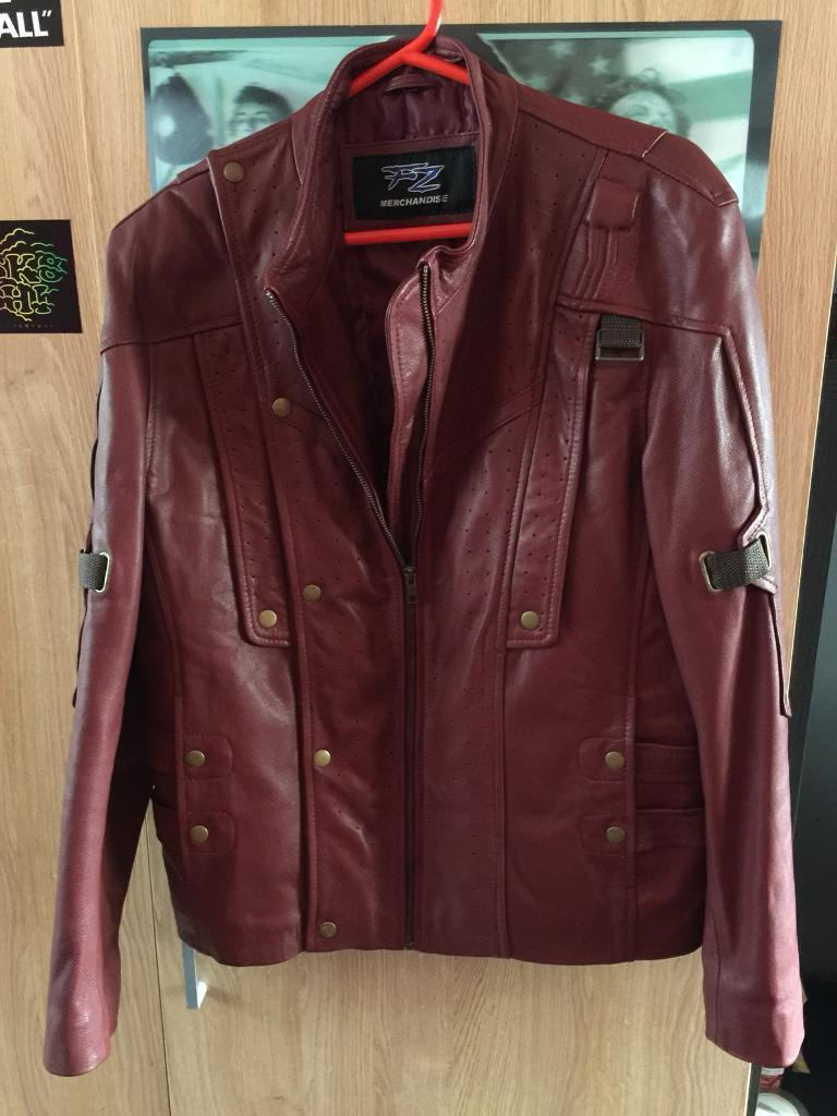 Brand new star lord leather jacket Large