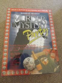 Murder at the Match Murder Mystery 9 Player Party Game *Sealed**