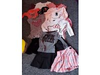 Bundle of girls clothes 6-7