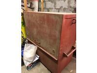Large metal toolbox