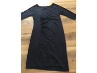 Seraphine Maternity Dress - Size 12, Navy