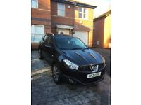 PRIVATE 2010 NISSAN QASHQAI TEKNA ,67550 MILES,FSH, 1 OWNER FROM NEW