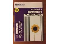 National 5 French: Practice Papers Book