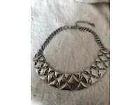 Next necklace never been worn silver