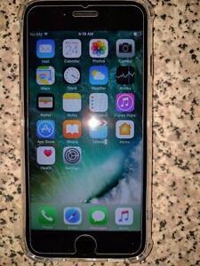 Matt Black Iphone 7 32 GB Apple Care March 2019 Bell/Virgin
