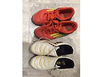 Adidas and Puma Astro Football Trainers - Size 4