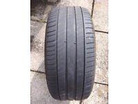 235/45/18 Michelin tyre