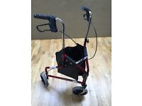 Three wheeler mobility trolley in very good condition