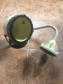 Retro vintage industrial Coughtrie Wall light Kodak Beehive Lamp