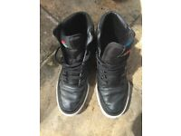 Men's Nike Black High Top Trainers / Boots Size 10