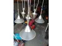 Triple counterbalanced light unit