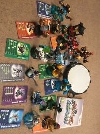 Sky landers swap force