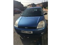 Ford Fiesta 2003 Hip Clear very nice car reduced to clear