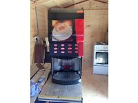 Nescafé commercial coffee machine mains feed with water tank