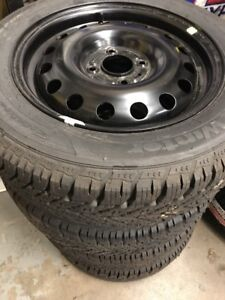 Brand new Ford Fiesta Winter Tires, Rims, Tire pressure sensors