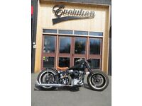 EVOLUTION MOTOR WORKS - 1958 Harley-Davidson Panhead. Very Rare, Collectable Motorcycle.