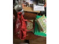 red bag set brand new all of it