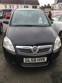 2009 Zafira 73k mileage for sale