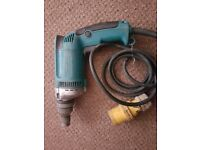 Makita drill and drill