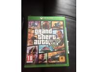 Grand theft auto 5 and Xbox one pad