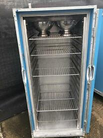 Locking thermobox catering storage shelving insulated system