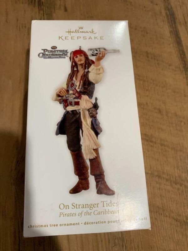 Hallmark Ornament Pirates of the Caribbean On Stranger Tides 2012 Captain Jack