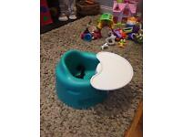 Bumbo baby sitter and play tray