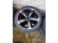 Audi 18'' Rotor Aloy Wheel Used 1x Wheel Can Post