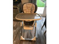Highchair Joie Mimzy LX Highchair, 2 months old looks like brand new