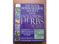 Royal Horticultural Society New Encyclopedia of Herbs & Their Uses (Hardback) book