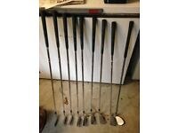 Titliest DTR irons full set (left handed)