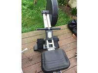 Infiniti air rowing machine r60a in good working order.