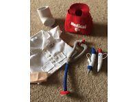Build a bear medical jacket and set