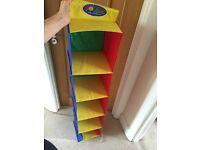 Storage for kids stuff