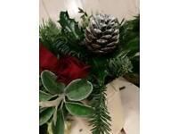 Fresh festive pot decoration