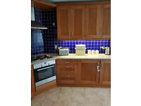 Kitchen for sale including oven,hob,extractor,sink and dishwasher