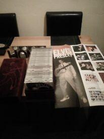Elvis 30cd collection in red velvet box