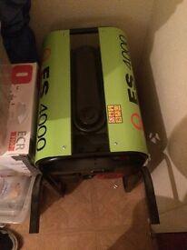 Pramac es4000 generator with trolley £500