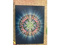 Classic collectors who wants to be a millionaire board game
