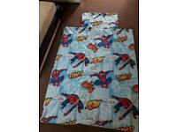 Spiderman duvet& pillow case cover
