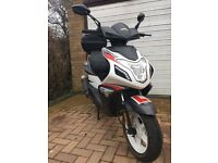2014 Sinnis Harrier 125 cc Scooter Moped not Honda Yamaha Aprilia £600 or nearest offer